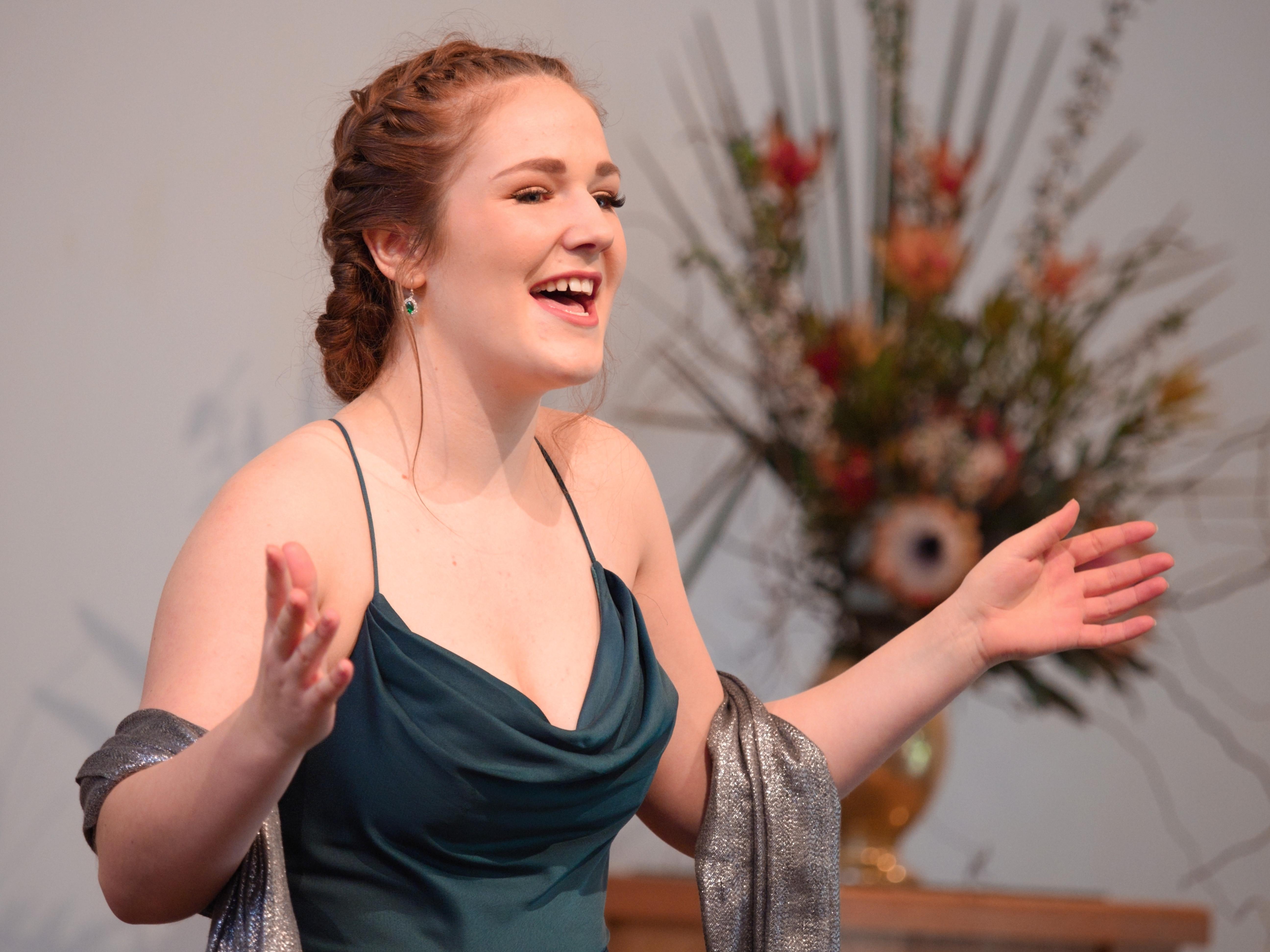 WGE Classical Vocal Christina Keen Performs