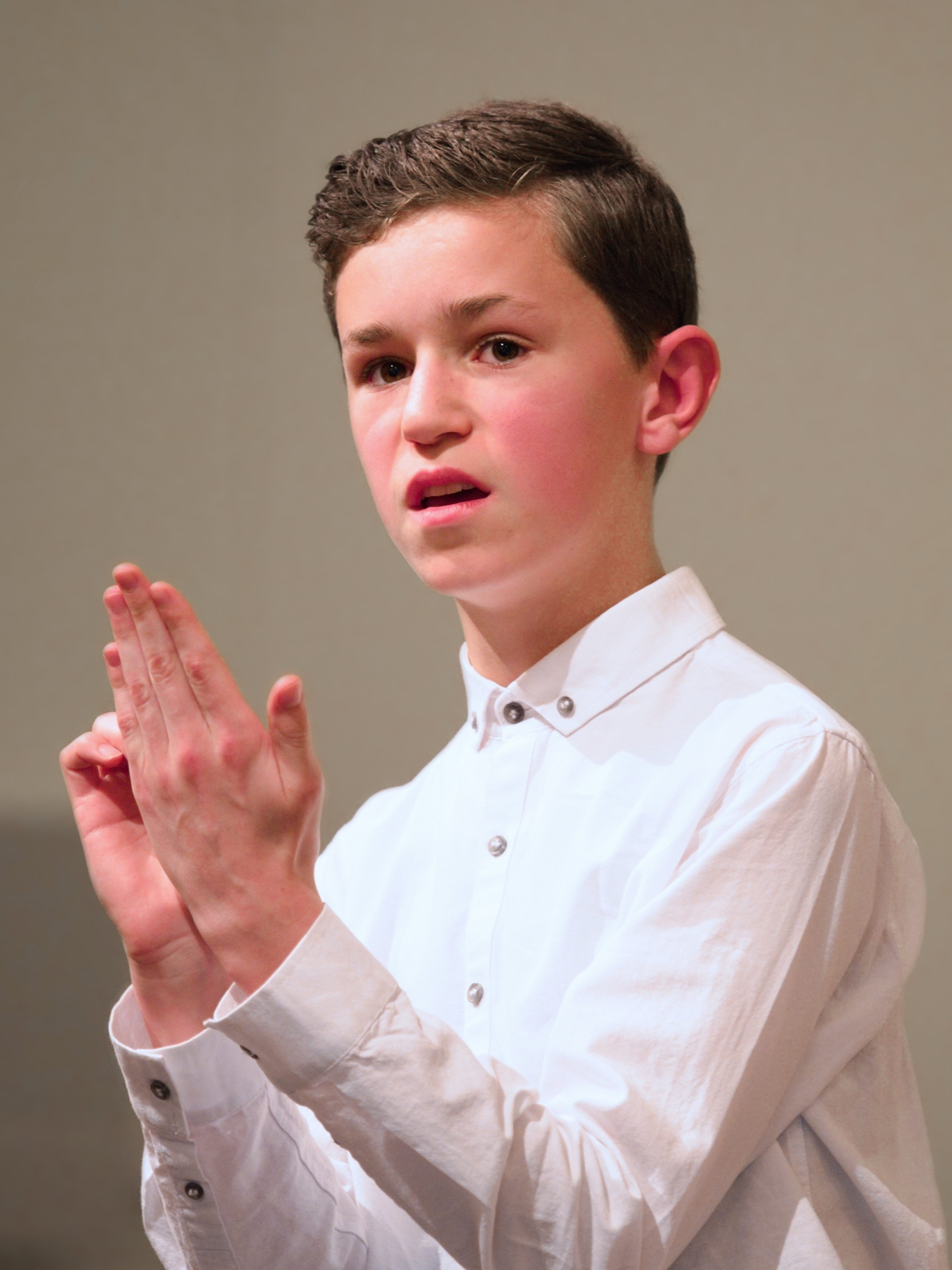 WGE Classical Vocal Luke Brown Performs