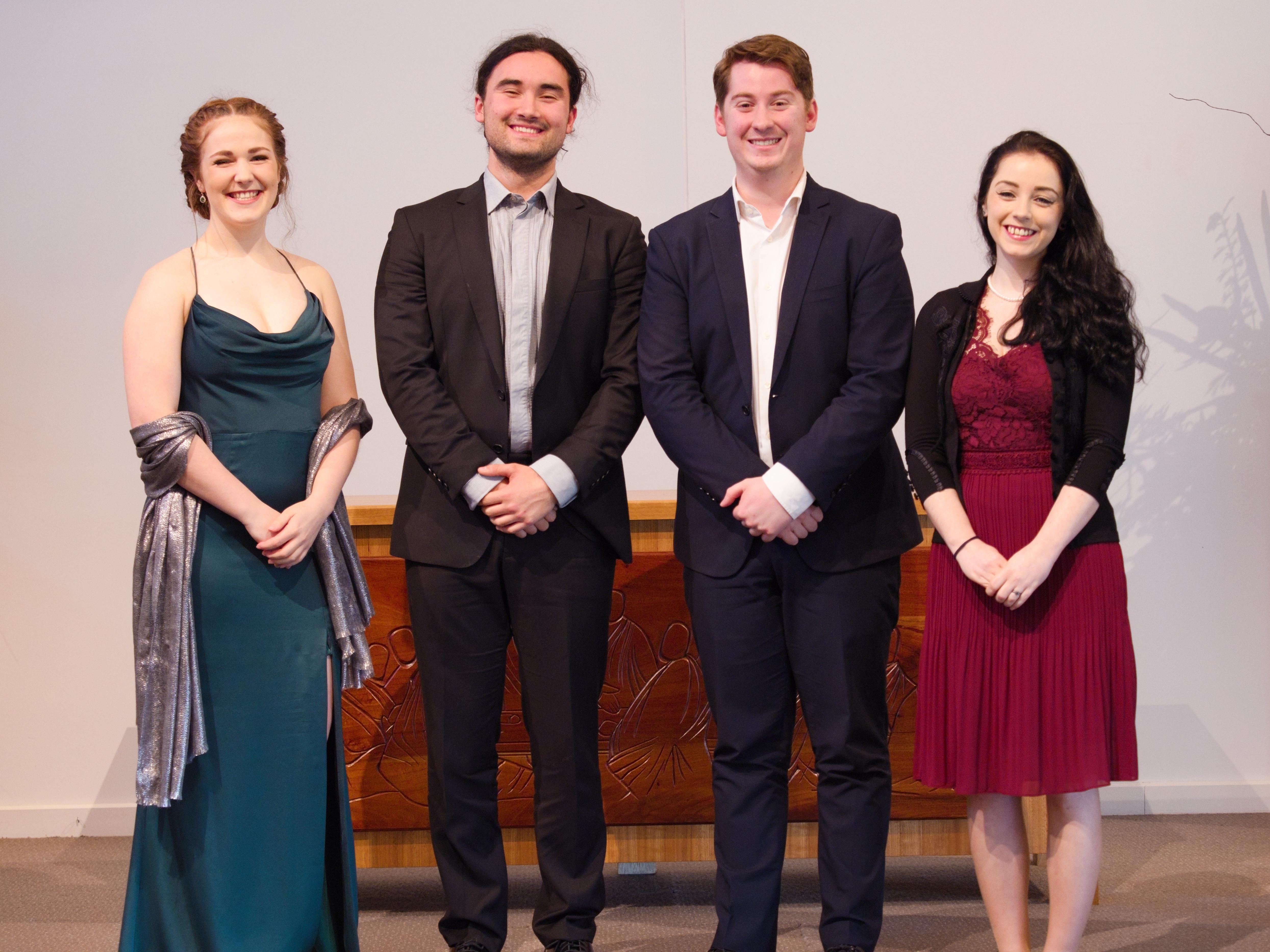 WGE Classical Vocal S 715 1st James Emerson, 2nd Christina Keen, 3rd Callum MacDonald, HM Maureen Doris