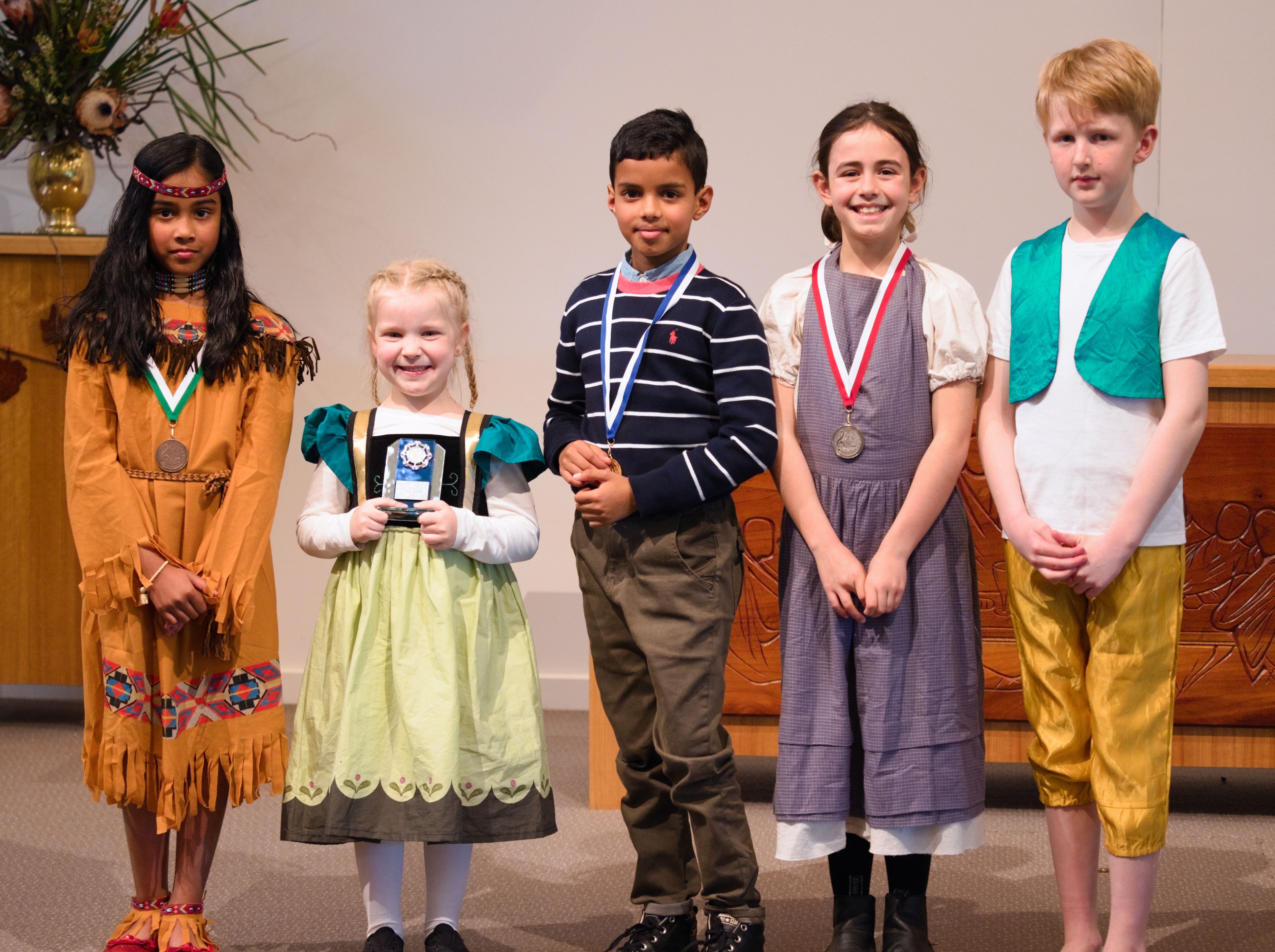 WGE Classical Vocal S702 1st Aiden Shayane Thanapathy, 2nd Grace Doherty, 3rd Dhanisha Kumar, HM Curtis Span and Encouragment Award Winner Nathalie Wilksch