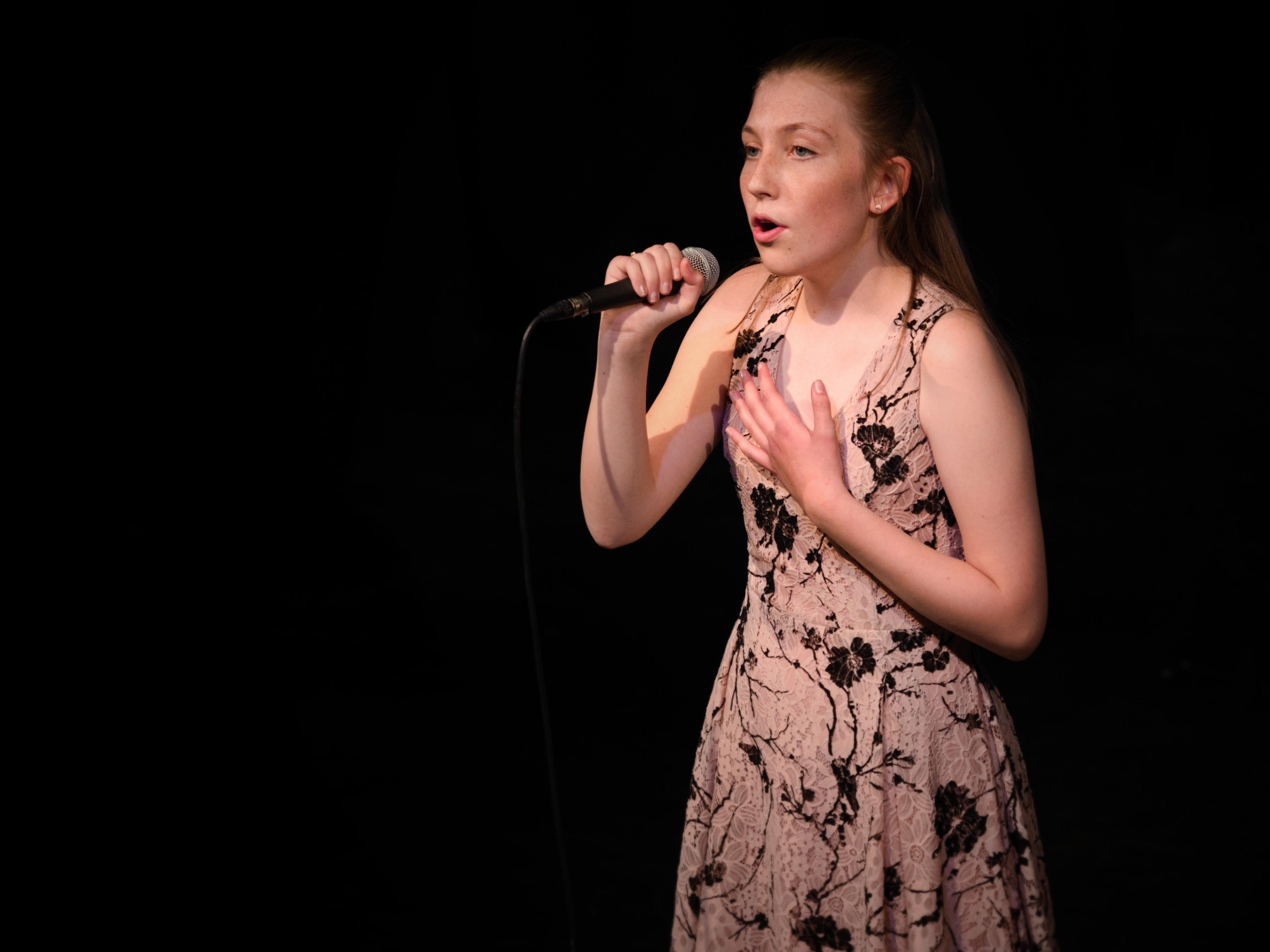 WGE Contemporary Popular Vocal Caitlin Buckley Performs