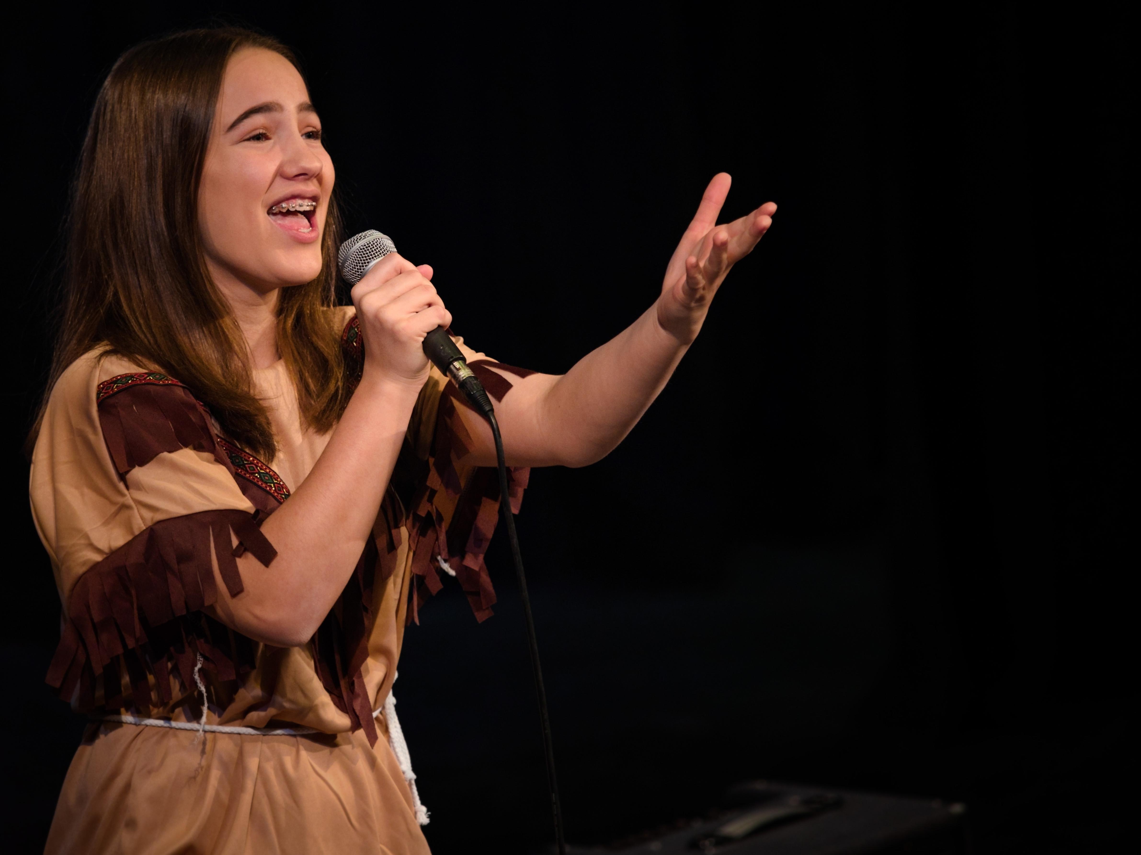 WGE Contemporary Popular Vocal Lucinda Da Silva Performs