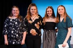 WGE Contemporary Popular Vocal S8071 1st Emily Morrison, 2nd Emily Jones, 3rd Emelia Myors, HM Alethea Barnard