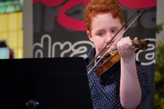 WGE Instrumental Aaron Hoogendoorn Displays His Skill on the Violin