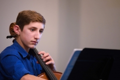 WGE Instrumental Daniel Gillam Displays His Skill on the Cello