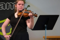 WGE Instrumental Rachael Handasyde Displays Her Skill on the Violin