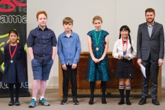 WGE Instrumental S4.08 1st Erika Lee, 2nd Tracy Zhao, 3rd Adele Gillam, HM Aaron Hoogendoorn & Max O'Connor