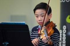 WGE Instrumental Xavier Chew Displays His Skill on the Violin