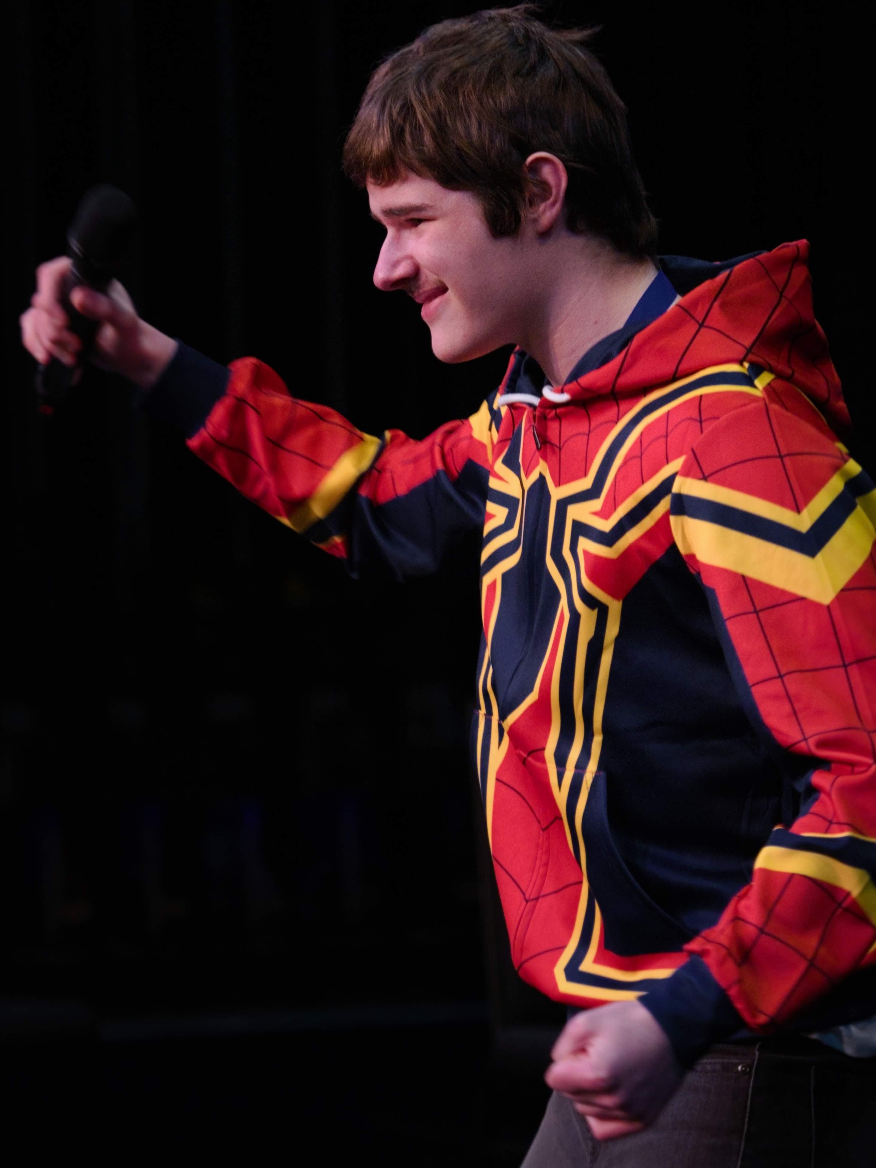 WGE Parasteddfod Keith Pyle Performs