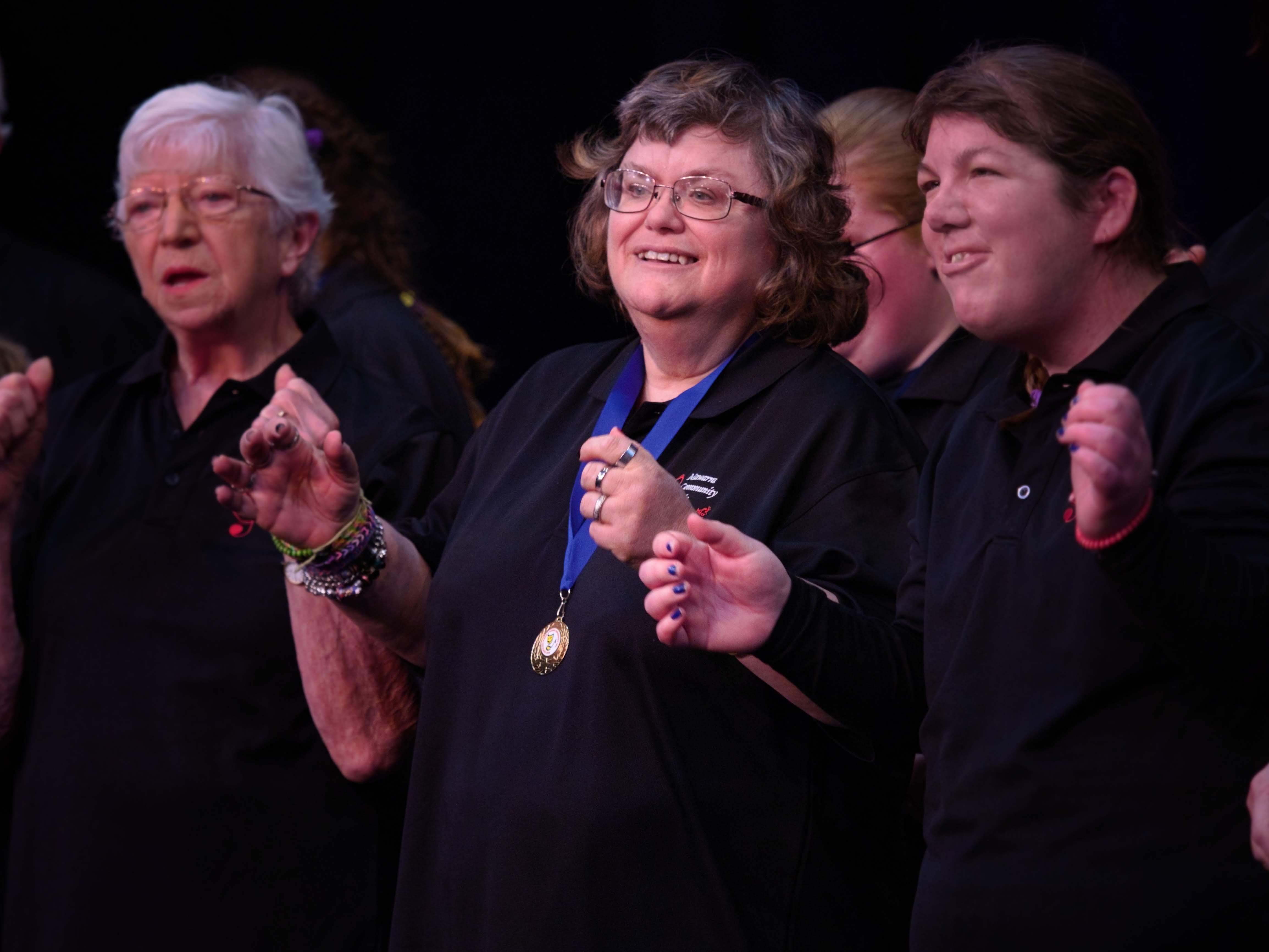 WGE Parasteddfod Mawarra Community Choir Performs