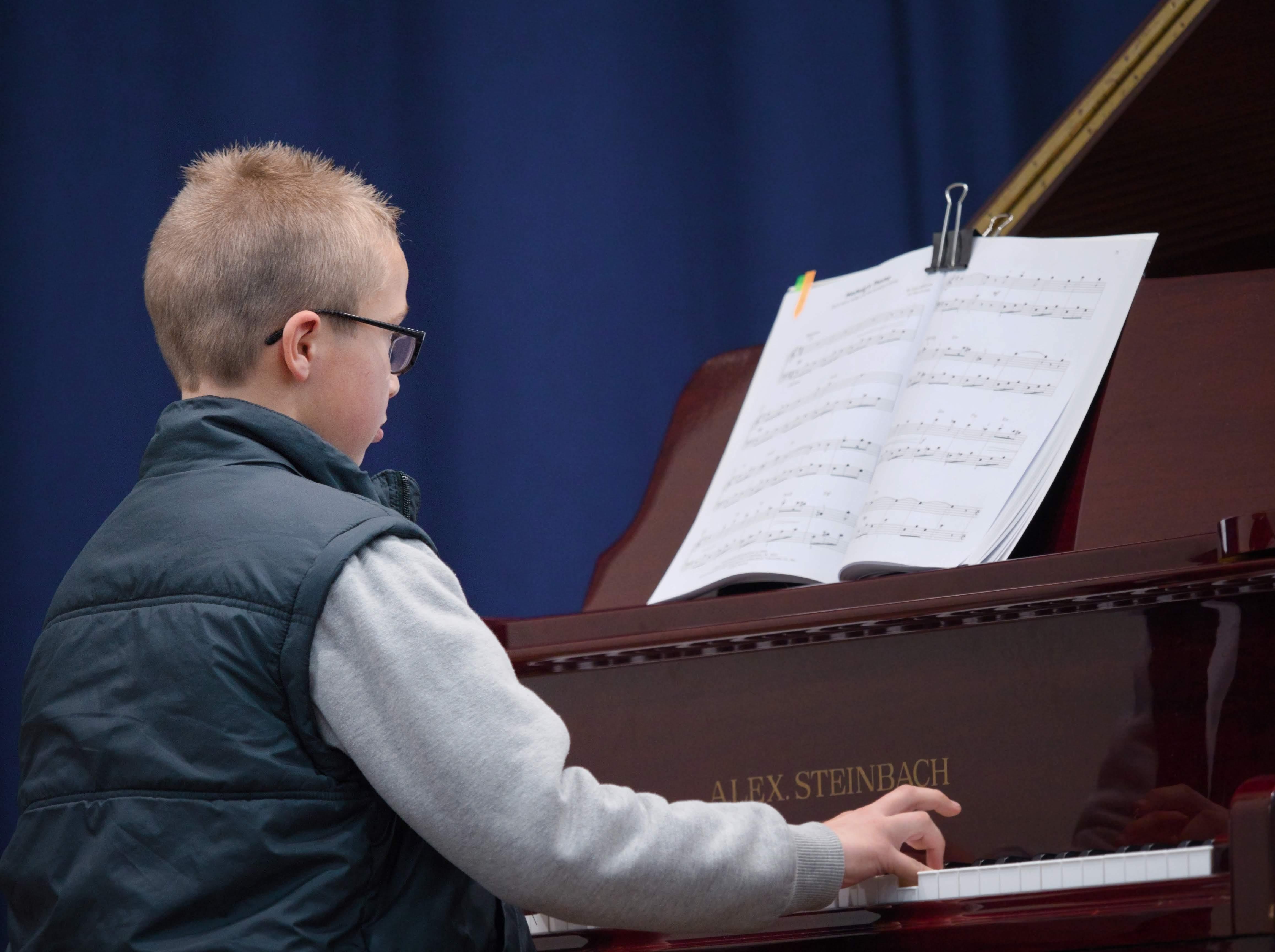 WGE Pianoforte Day 1 Kaylen Bietman Displays his skills on the Piano