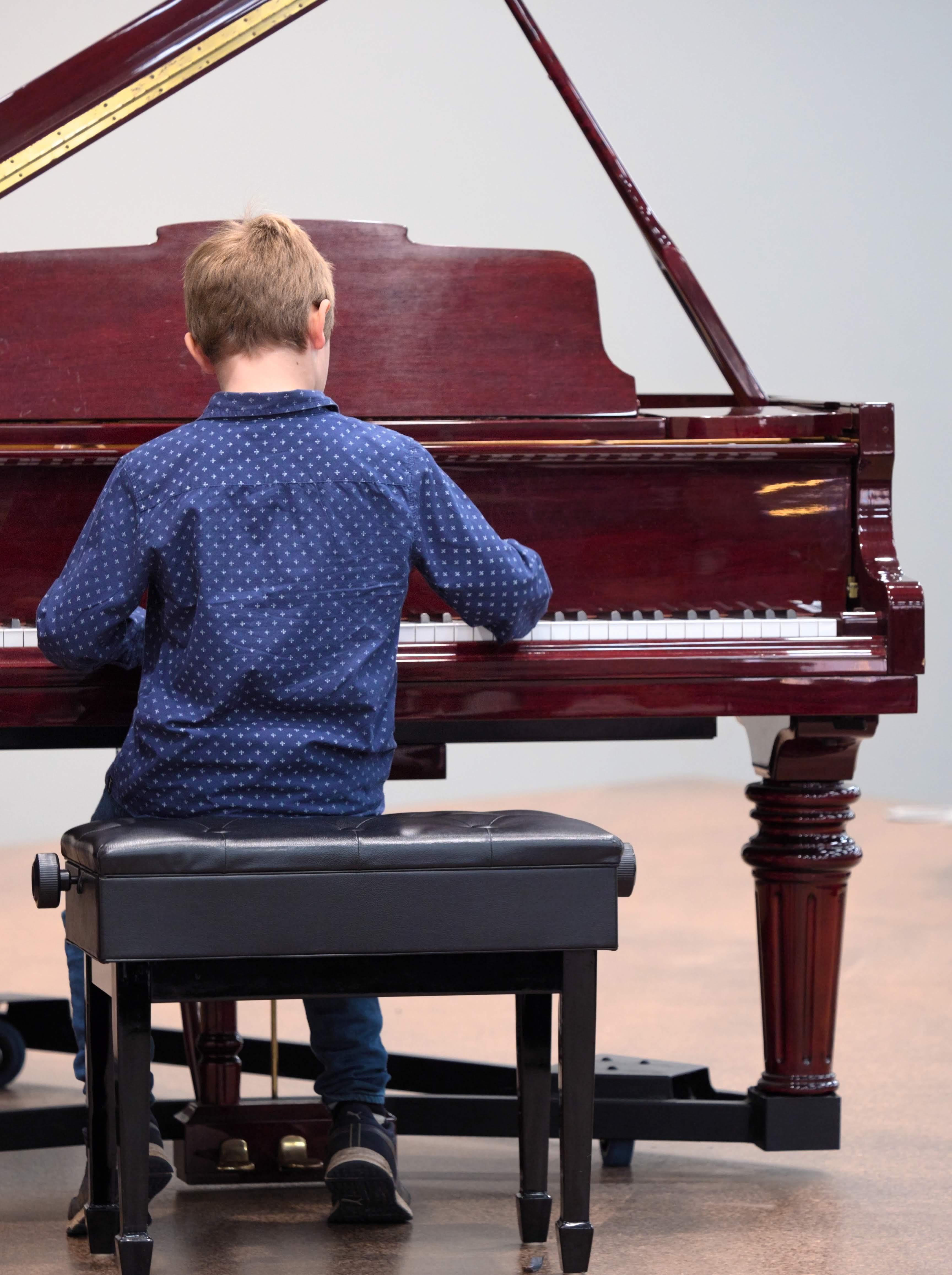WGE Pianoforte Day 1 Reggie Read Plays the Piano