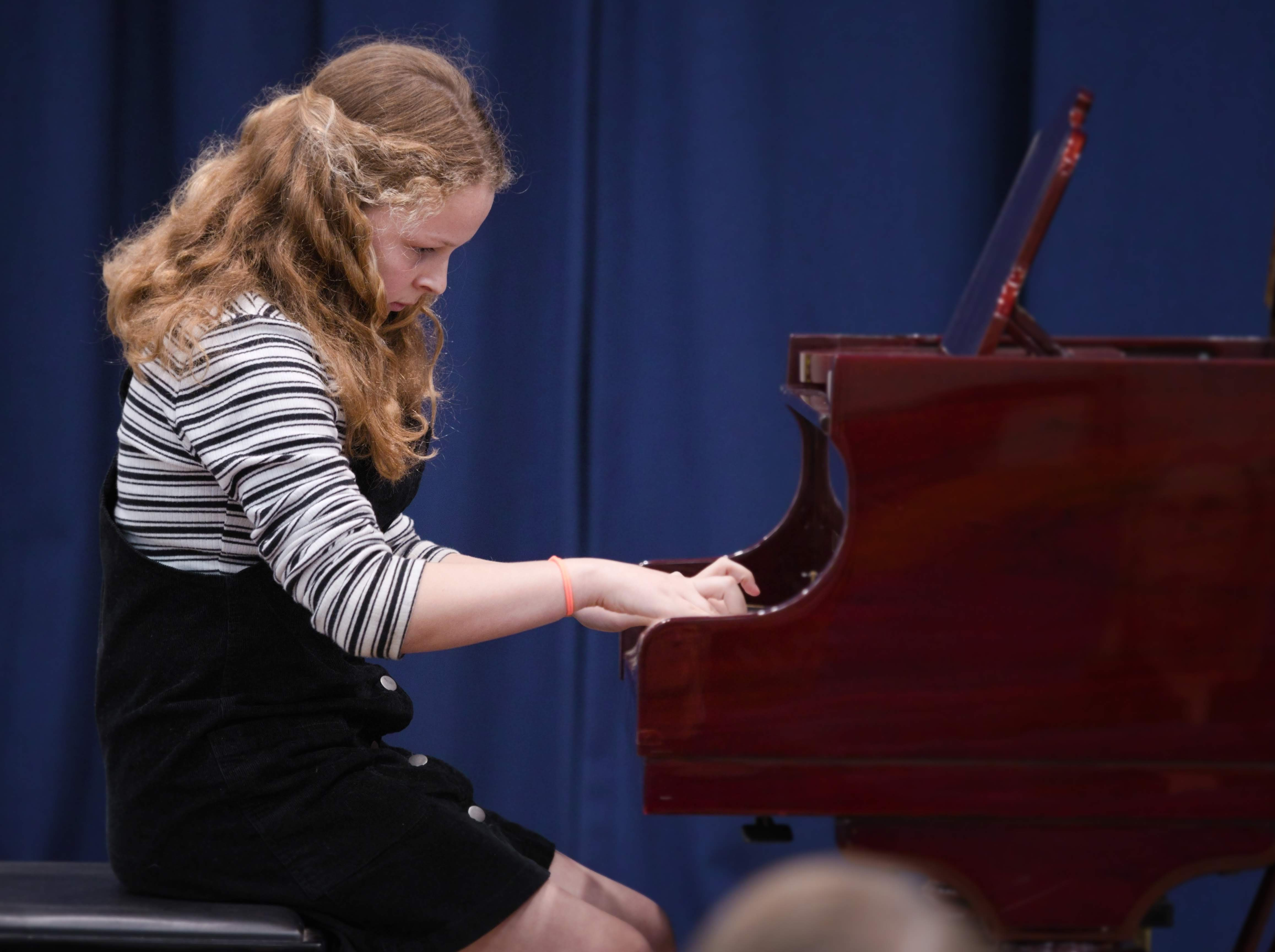 WGE Pianoforte Day 2 Katie Geary Displays her Skills on the Piano