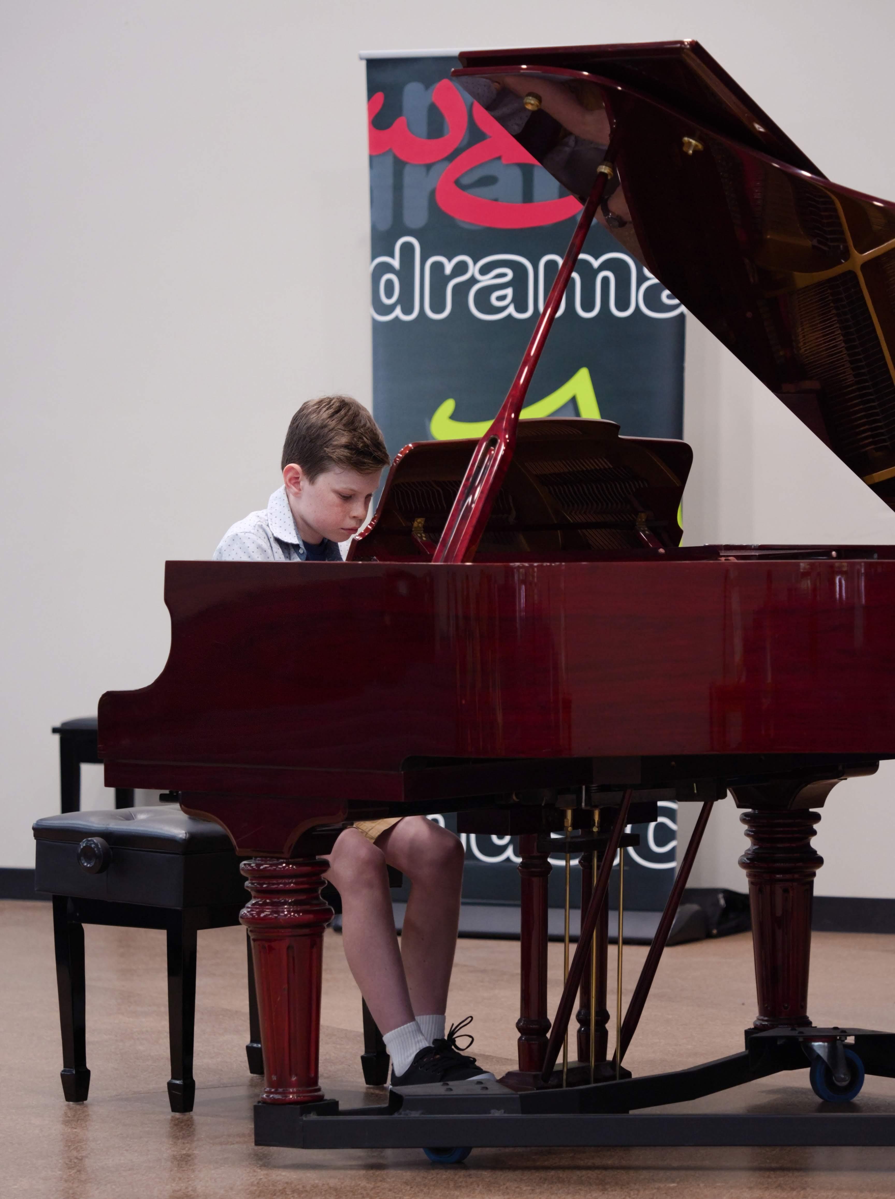 WGE Pianoforte Day 2 Patrick Wilson Displays his Skills on the Piano