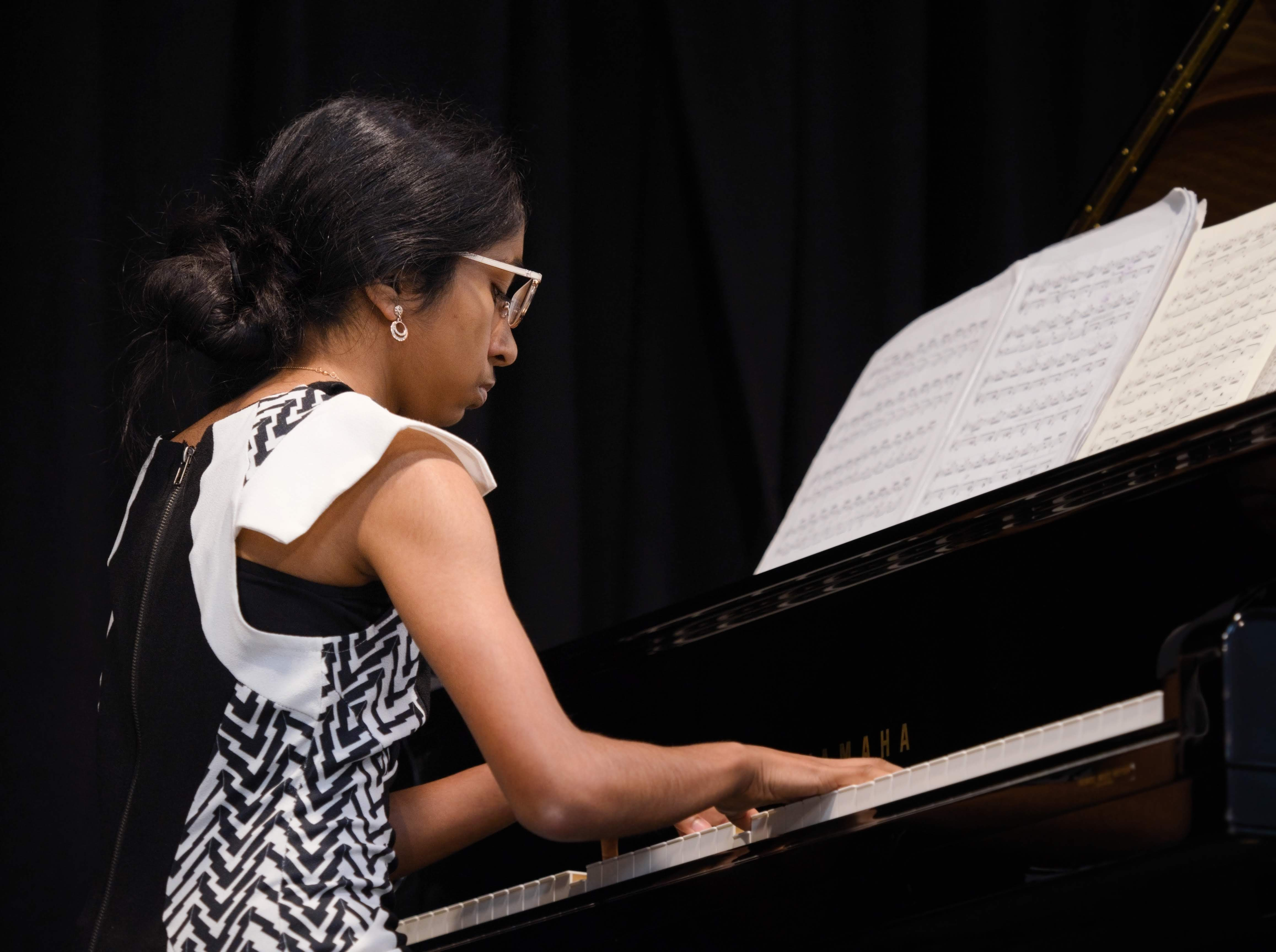 WGE Pianoforte Day 3 Annabelle Rajasingham Displays Her Skills on the Piano