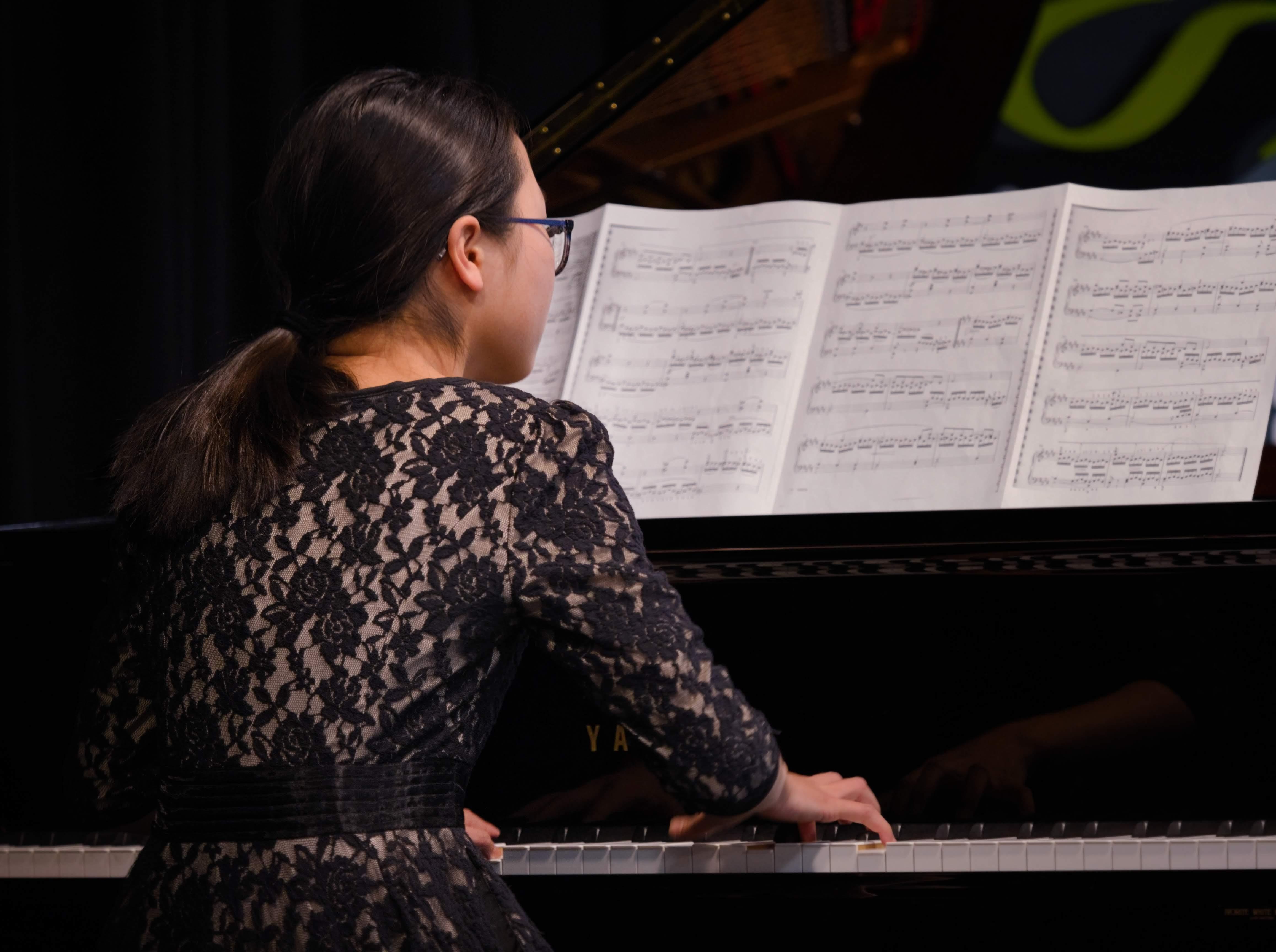 WGE Pianoforte Day 3 Rachel Liang Chen Displays Her Skills on the Piano