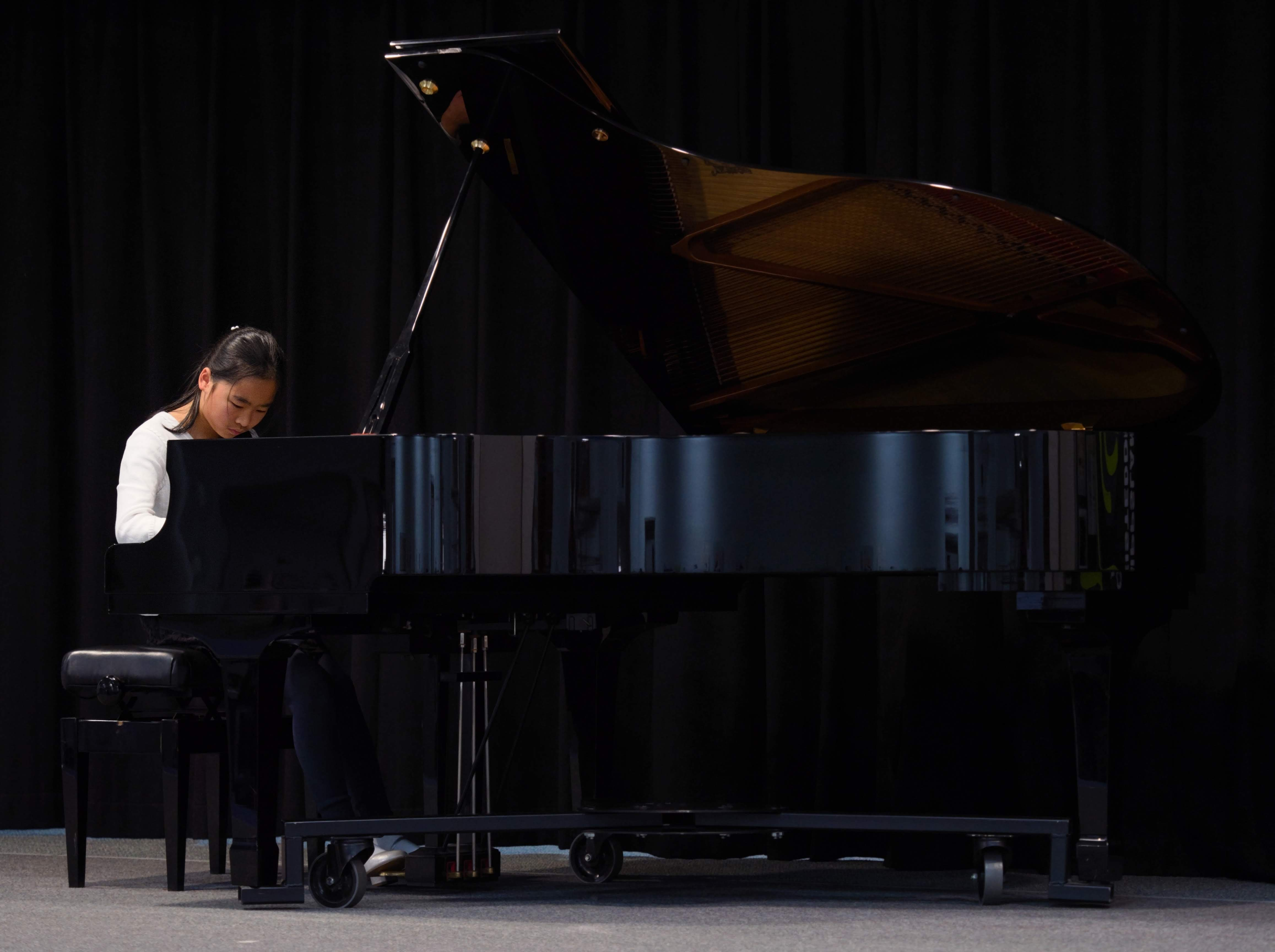 WGE Pianoforte Day 3 Sophia Yang Displays Her Skills on the Piano