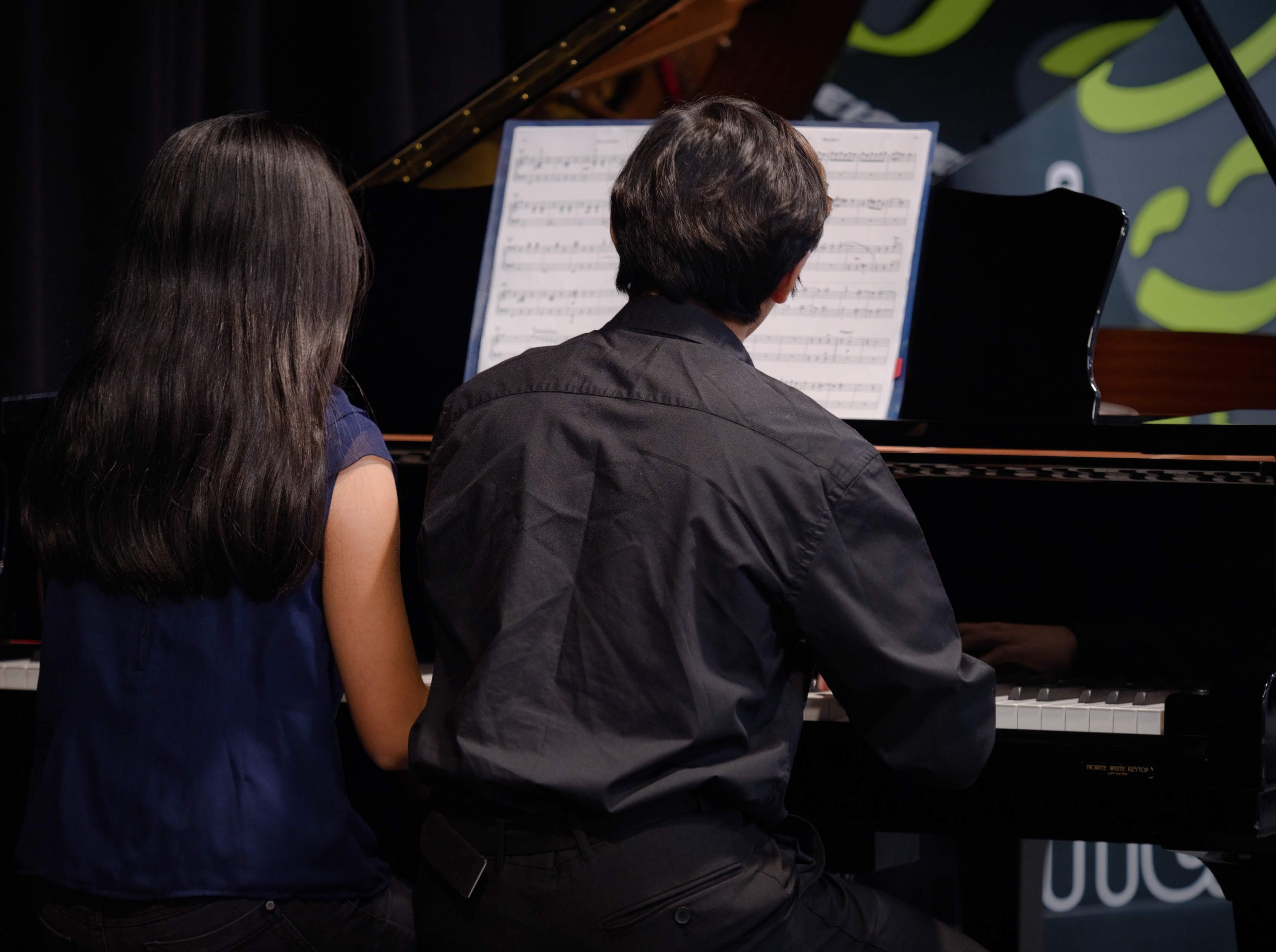 WGE Pianoforte Day 3 Steve Widjaja and Victoria Bahana Display Their Skills on the Piano