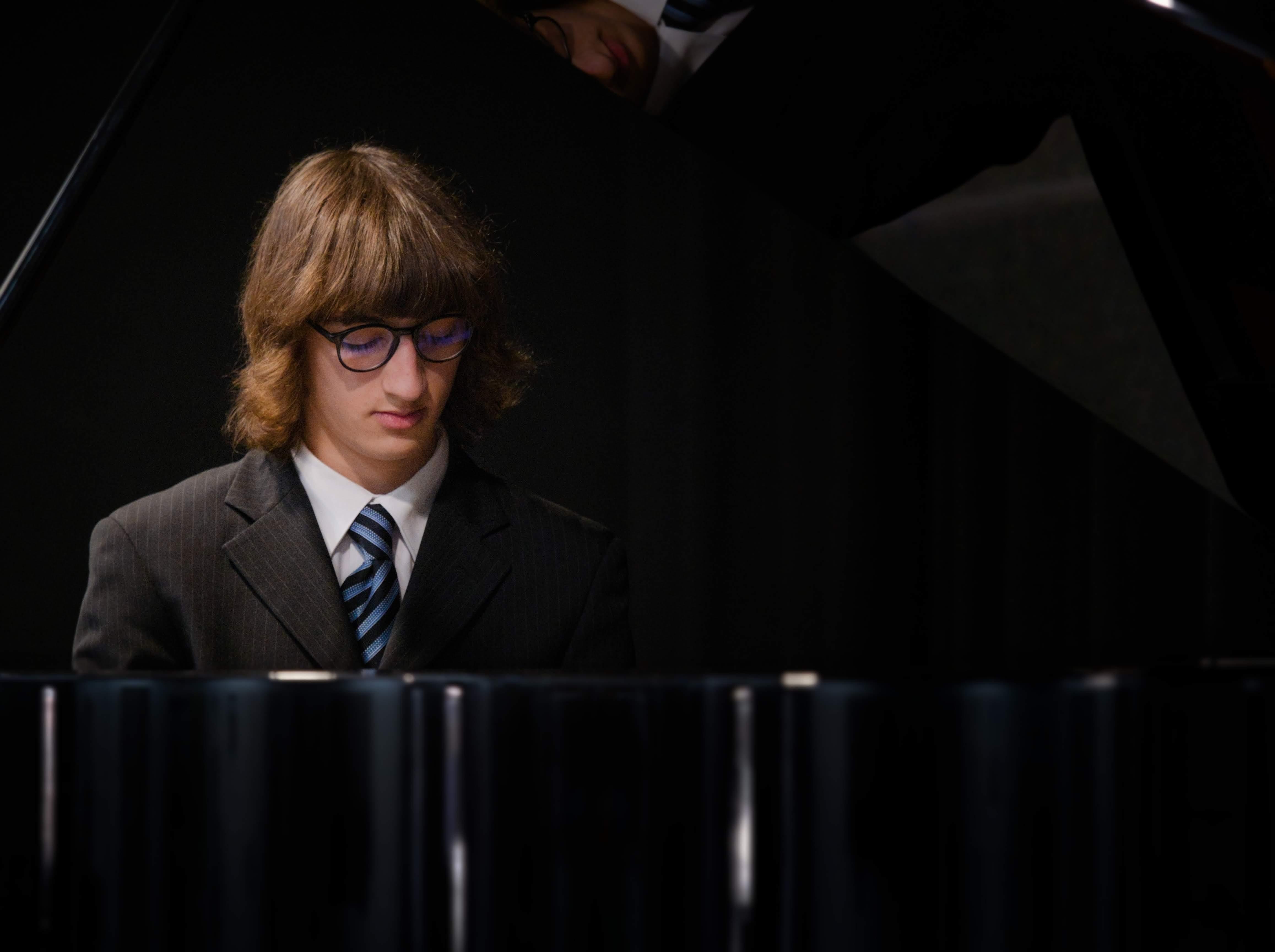 WGE Pianoforte Day 4 Ali Shlaibeq Displays His Skills on the Piano