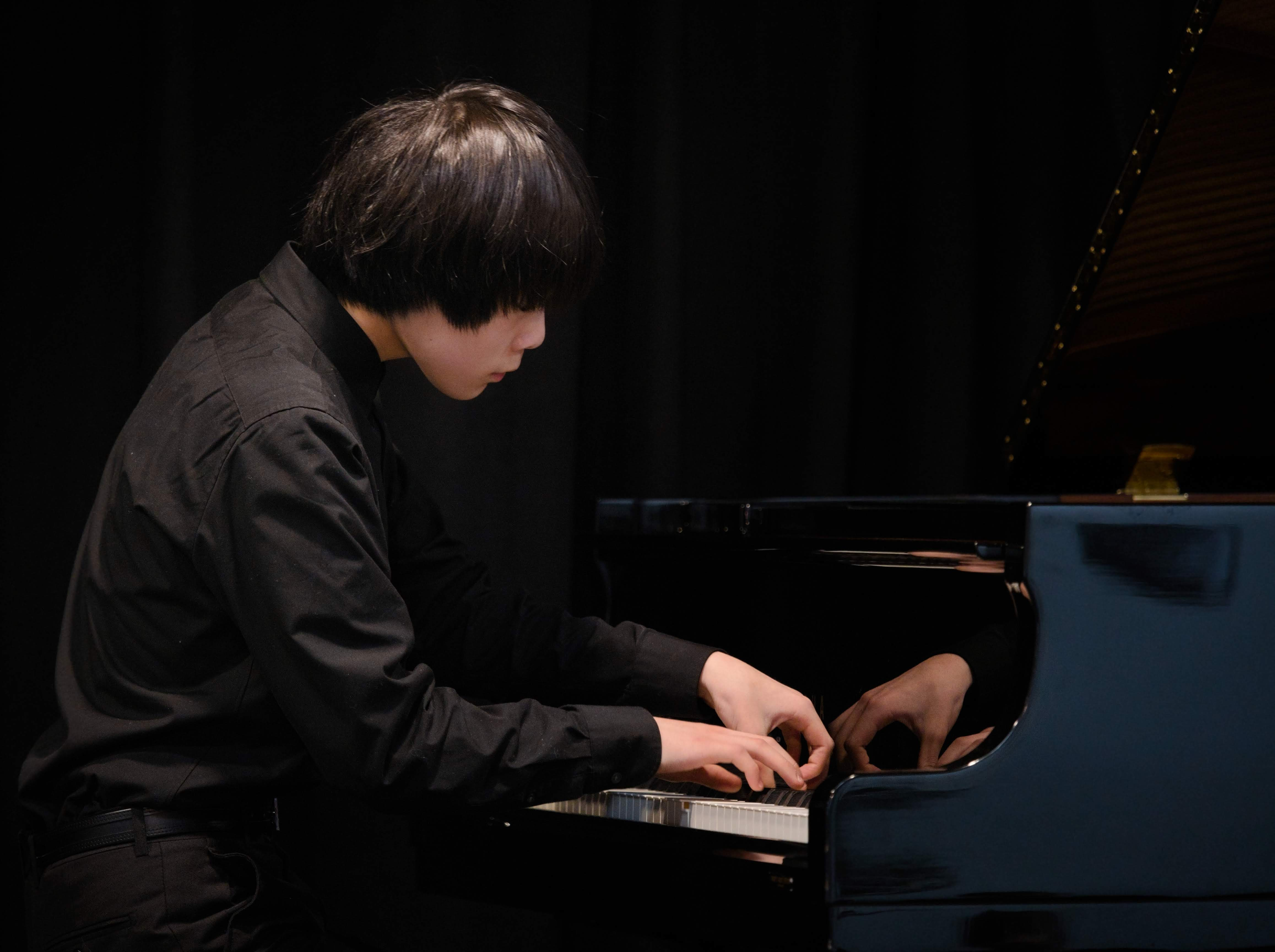 WGE Pianoforte Day 4 Max Jiang Plays the Piano