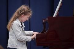 WGE Pianoforte Day 1 Josephine Morter Displays her Skills at the Piano