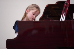 WGE Pianoforte Day 1 Matehya Archibald Performs on the Piano