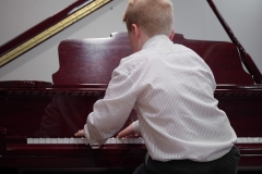 WGE Pianoforte Day 1 Oscar Wilkins Displays his skills on the Piano