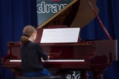 WGE Pianoforte Day 1 Sonya Kubale Displays her skills on the Piano