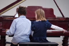 WGE Pianoforte Day 2 Asha Silcock & Matehya Archibald Display their Skills on the Piano