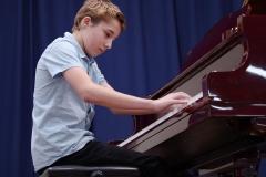 WGE Pianoforte Day 2 Damien Gordon Displays his Skills on the Piano