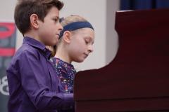 WGE Pianoforte Day 2 David and Olivia Selent Display their Skills on the Piano
