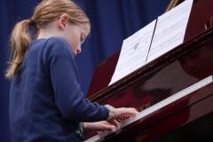 WGE Pianoforte Day 2 Edith Christensen Displays her Skills on the Piano