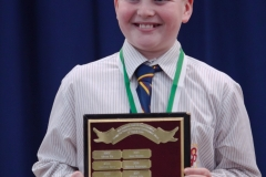 WGE Pianoforte Day 2 Oscar Wilkins Recieves the 12 Yrs and Under Perpetual Trophy Award