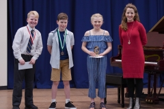 WGE Pianoforte Day 2 S1.11 1st Sarah Sauren, 2nd Oscar Wilkins, 3rd Patrick Wilson