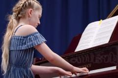 WGE Pianoforte Day 2 Sarah Sauren Displays her Skills on the Piano
