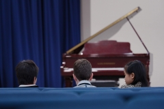 WGE Pianoforte Day 2 Three Children Wait for Their Turn to Perform