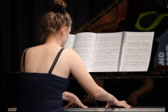 WGE Pianoforte Day 3 Claire Birks Displays Her Skills on the Piano