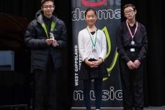 WGE Pianoforte Day 3 S1.14 1st Zitong Ren, 2nd Steve Widjaja, 3rd Sophia Wang