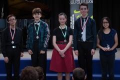 WGE Pianoforte Day 3 S1.15 1st Victoria Bahana, 2nd Steve Widjaja & Eisak Tabensky, 3rd Aleksandr Tabensky & Gabrielle Wijaya