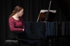 WGE Pianoforte Day 4 Miriam Hood Displays Her Skills on the Piano