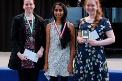 WGE Pianoforte Day 4 S1.22a 1st Rachael Handasyde, 2nd Annabelle Rajasingham, 3rd Ashley Geary (2)