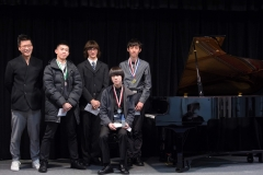WGE Pianoforte Day 4 S1.30 1st Max Jiang, 2nd Dennis Melis, 3rd Timothy Kan